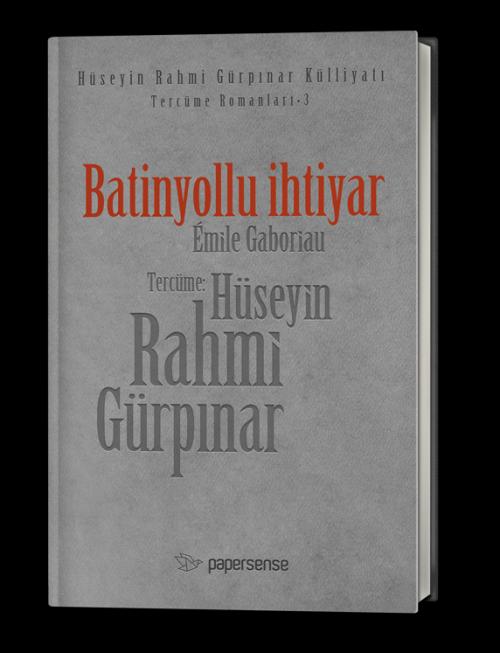 Batinyollu İhtiyar (Deri Kapaklı)